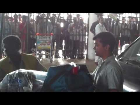 Leaving Bangladesh Airport.mp4