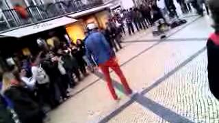 Dan�ando Kizomba em Lisboa - Portugal!