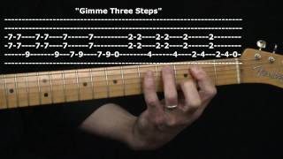 """Gimme Three Steps"" by Lynyrd Skynyrd : 365 Riffs For Beginning Guitar !!"