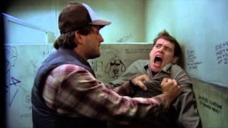 Dumb & Dumber original bathroom scene