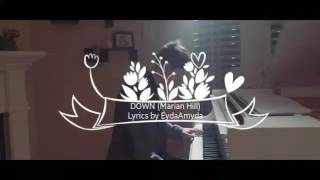 DOWN Marian Hill (Lyrics) - Kina Grannis & KHS Cover