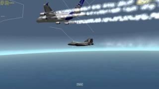 Orbiter XR2 and A380 close flight