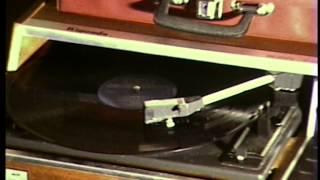 Eumig Super 8 Sound 80 Camera Test 1977 Vintage Russian Rigonda Record Player