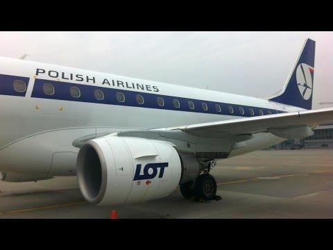 Inside LOT Embraer E-175 Warsaw – Lviv, Ukraine Варшава – Львів