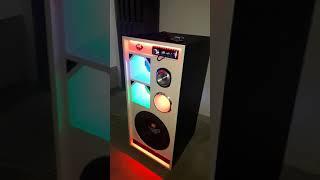 Caixa BOB esponja com vulcano 3.8 ao som de jonas esticado.