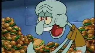 Squidward Chugs Krabby Patties While I Play Somewhat Fitting Music