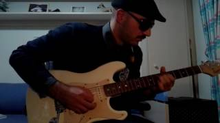 Child in time guitar solo cover (Deep purple) by John Emm