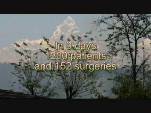 Darbang Surgical Eye Camp Myagdi, Nepal
