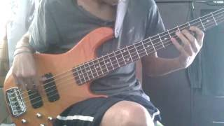 jaco pastorius - jam in e bass cover by dyfre