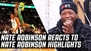 Nate Robinson Reacts To Nate Robinson Highlights