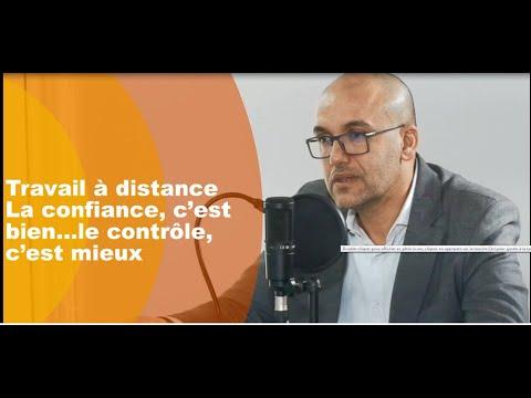 Video : Travail à distance: La confiance, c'est bien…le contrôle, c'est mieux