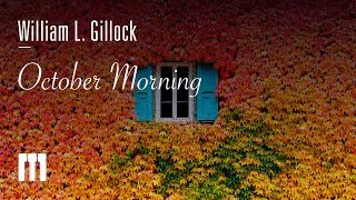 October Morning by William L. Gillock