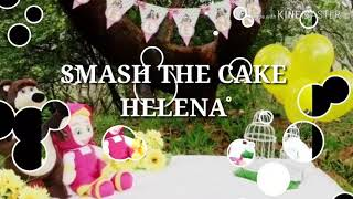 SMASH THE CAKE HELENA - MASHA E O URSO