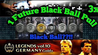 1 FUTURE BLACK BALL PULLED in Legend & Silver+ Pack Opening Pes 18 Mobile