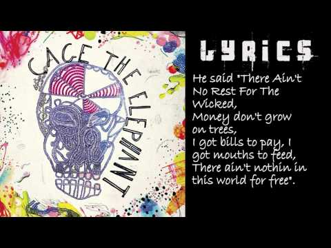 Ain\'t No Rest For The Wicked (Instrumental) With Lyrics - Cage The ...