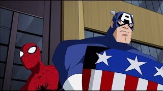 The Avengers: Earth's Mightiest Heroes - Spider-Man And Captian America Team-Up!