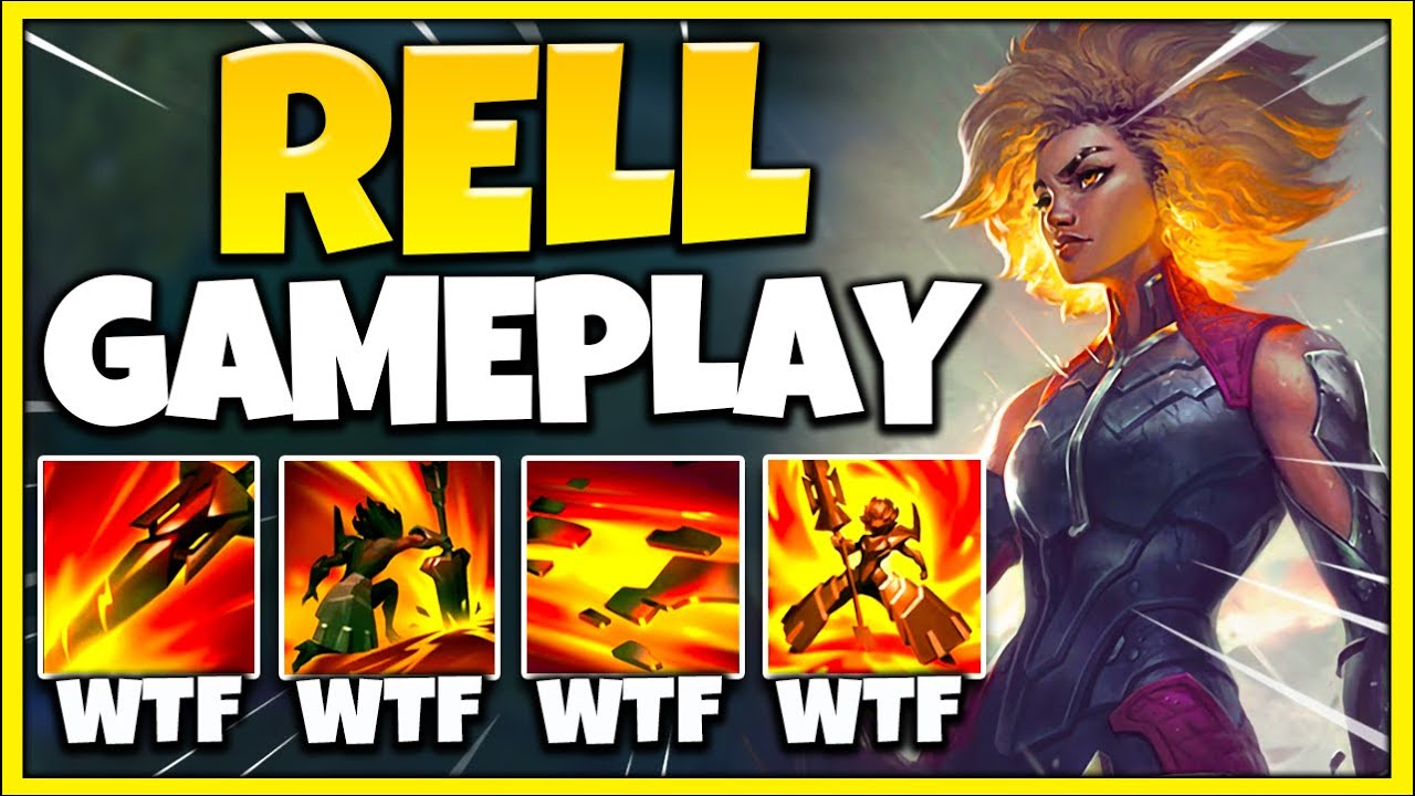 Professor Akali - NEW CHAMPION RELL IS A MONSTER! NON-STOP STUN COMBOS + CRAZY TANKINESS - League of Legends
