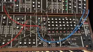 Moog System 55 冨田勲風 ③パピプペ親父の音色 Isao Tomita style Papipupe sounds