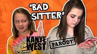 Bad Sitter: Gold Digger - Kanye West PARODY  // The Holderness Family