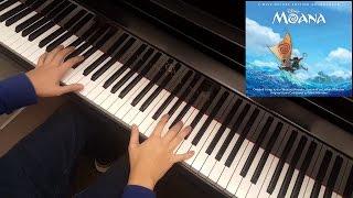 [Moana] [Instrumental] Auli'i Cravalho - How Far I'll Go (Piano Cover)