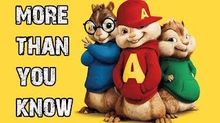Axwell Λ  Ingrosso | More Than You Know CHIPMUNKS