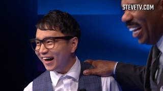 South Korean Magician Jeki Yoo on Steve Harvey Show (STEVE'S MUST SEE)