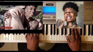 BLUEFACE - THOTIANA (PIANO TUTORIAL) Bb Minor