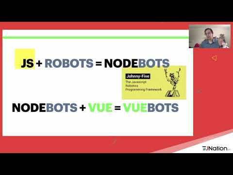 VueJS powered fluffy killing robots
