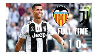 Juventus vs Valencia (1-0) ●All goals & best highlights