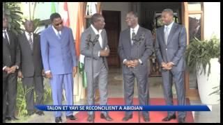 Réconciliation entre Boni Yayi et Patrice Talon à Abidjan