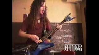 Pantera - Dimebag Darrell Backstage 1993
