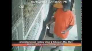 Armed Robbery at Minimart, Maturita Tr, Arima.  CRIME WATCH TV6 WITH IAN ALLEYNE