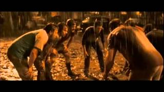 "Invincible [2006movie] Football under the rain [HQ] - ""the guys in the neighborhood"""