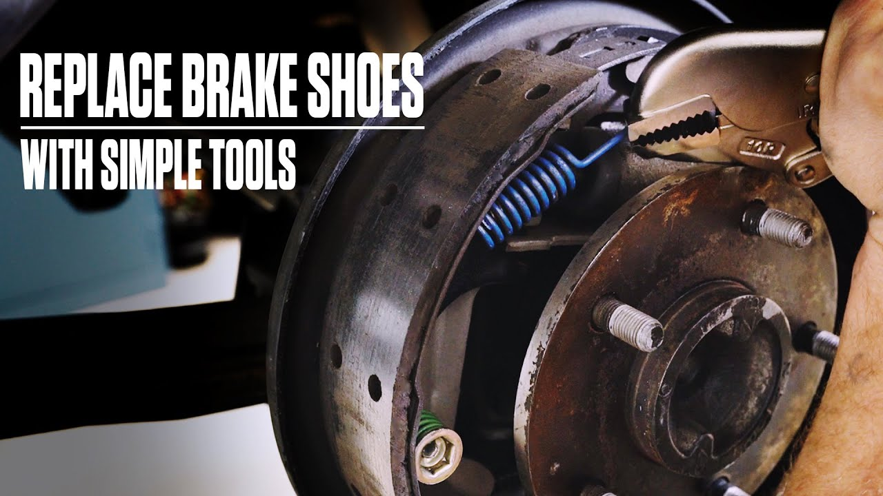 DIY: How to replace those old drum shoes and get those brakes working right