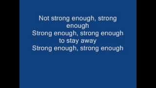 Apocalyptica-Not Strong Enough (feat. Brent Smith) - lyrics
