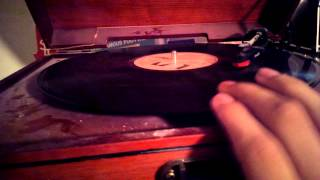 Vinyl record scratch