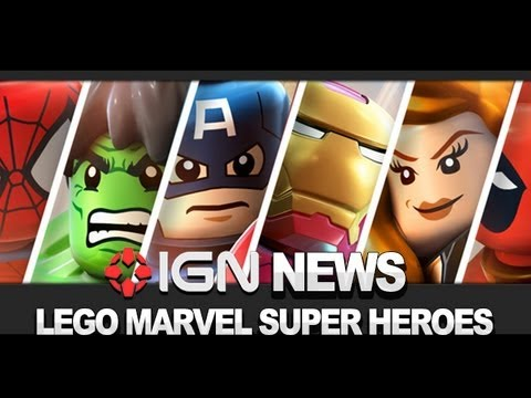 IGN News - LEGO Marvel Super Heroes Announced