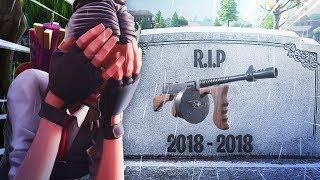 RIP Fortnite Drum Gun..