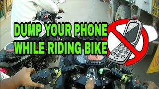 Why do they RIDE BIKE if CALL is more IMPORTANT then LIFE...??