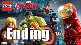 LEGO Marvel's Avengers Story Walkthrough Part 17 Ending Ultron ~ No Commentary HD