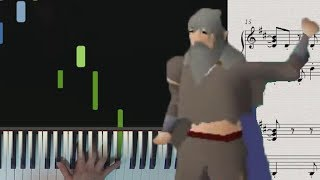 Settled - Swampletics intro piano cover (OSRS)