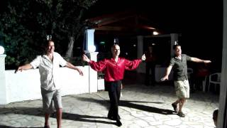 Everyone was Corfu Dancing....Eriva, Acharavi 2010
