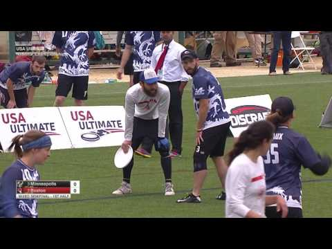Video Thumbnail: 2016 National Championships, Mixed Semifinal: Boston Slow White vs. Minneapolis Drag'n Thrust
