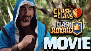 ICE WIZARD vs WIZARD - EPIC CLASH BATTLES - CLASH OF CLANS, CLASH ROYALE MOVIE HD