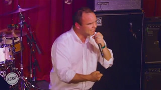 "Future Islands performing ""Through The Roses"" Live on KCRW"