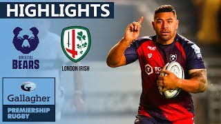 Bristol v London Irish HIGHLIGHTS | Incredible Last Minute Pen Decides Match | Gallagher Premiership