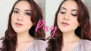 Soft makeup (pink) - PIXY ONE BRAND MAKEUP TUTORIAL width=