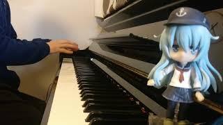 【ピアノ】艦これ「渚を越えて」を弾いてみた