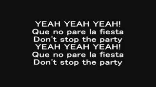 Pitbull - Don't Stop The Party (Official Lyrics)