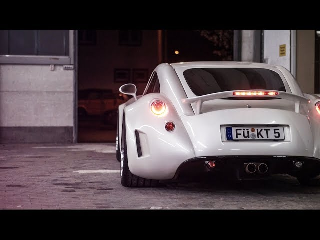 Wiesmann GT MF5: Cold Start, Tunnel Sound, Acceleration, Revs, Downshifts and Drive